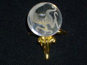 水晶玉 白虎